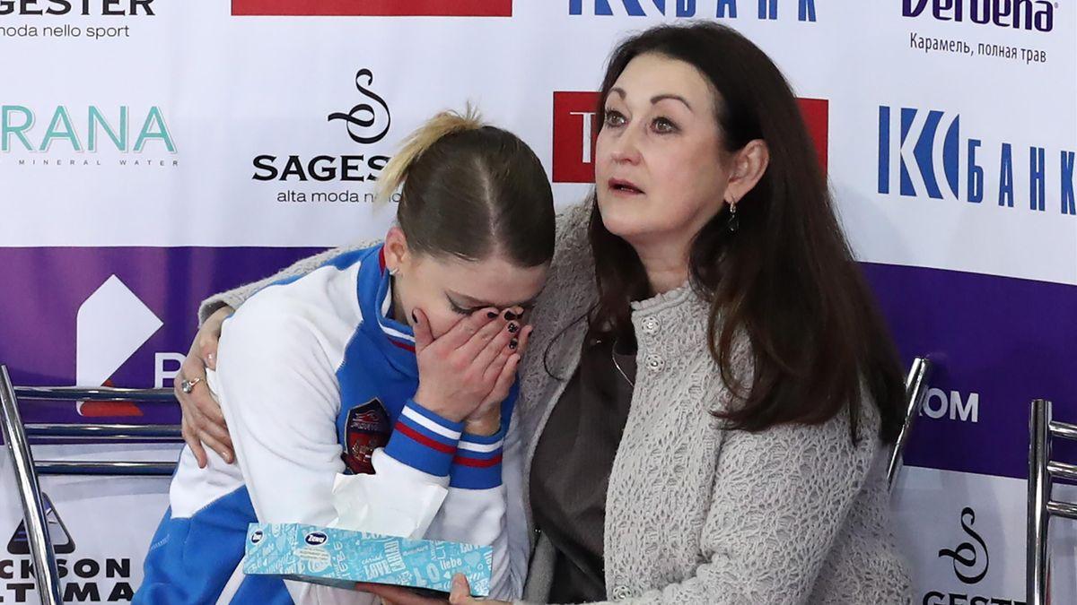 Мария Сотскова, хореограф Ирина Тагаева, чемпионат России-2019