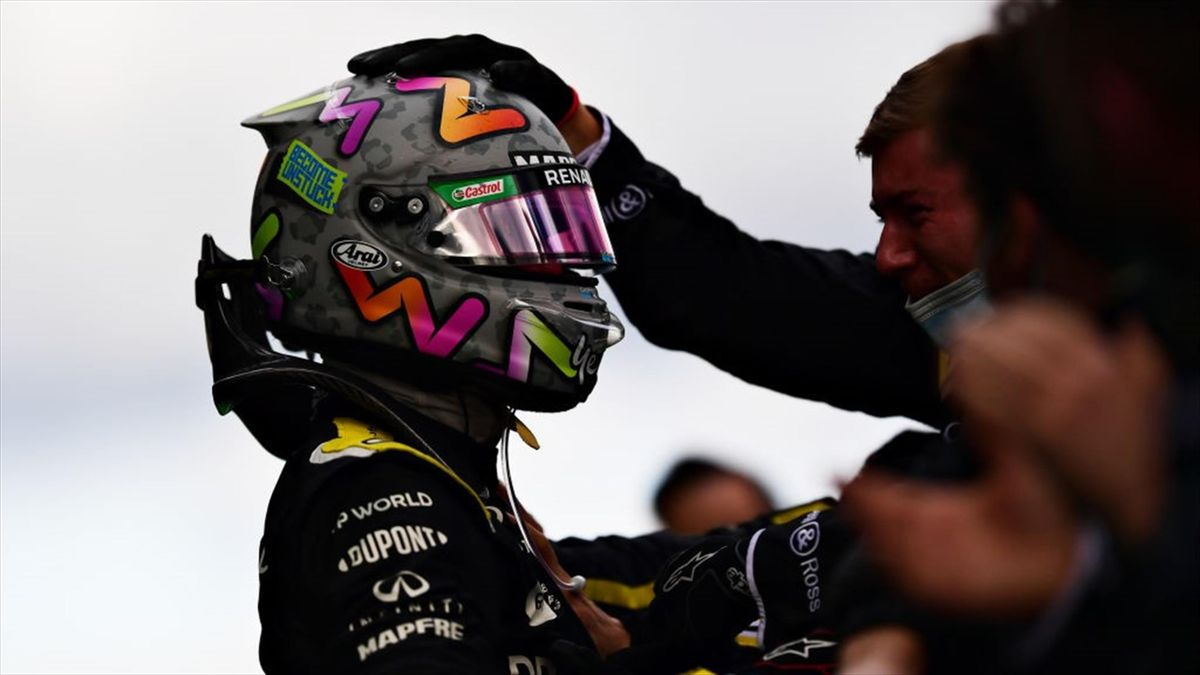 Daniel Ricciardo (Renault) au Grand Prix de l'Eifel 2020