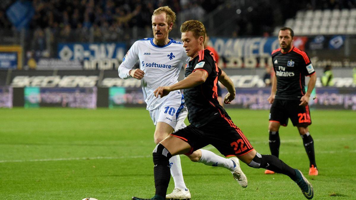 Der SV Darmstadt und der Hamburger SV lieferten ein hart umkämpftes Spiel