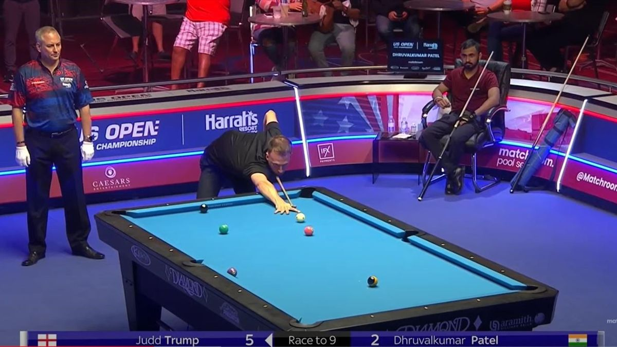 Judd Trump enjoyed a 9-2 win in the US Open second round (Credit: Matchroom Pool YouTube)