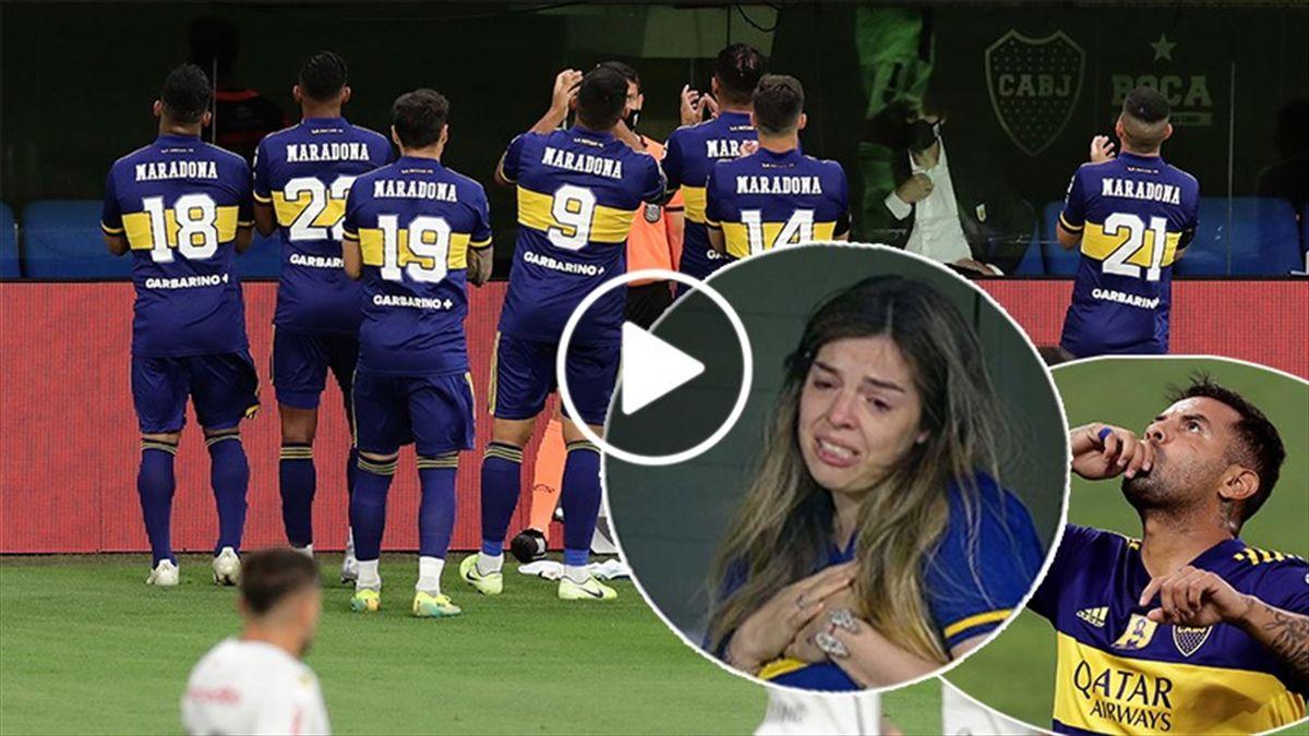 Dalma Maradona tears Boca Juniors-Newell's Old Boys