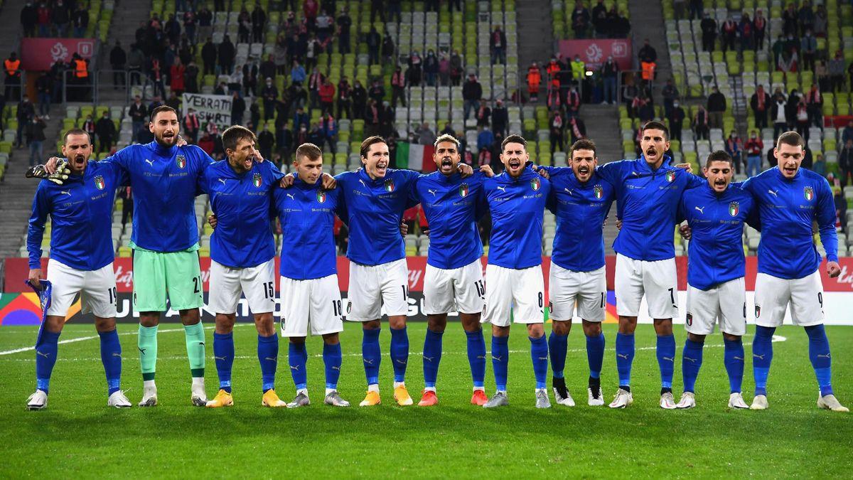 Polonia-Italia, Nations League ottobre 2020: l'undici Azzurro (Getty Images)