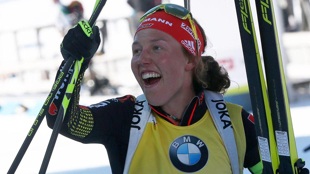 Laura Dahlmeier - Biathlon Hochfilzen 2017