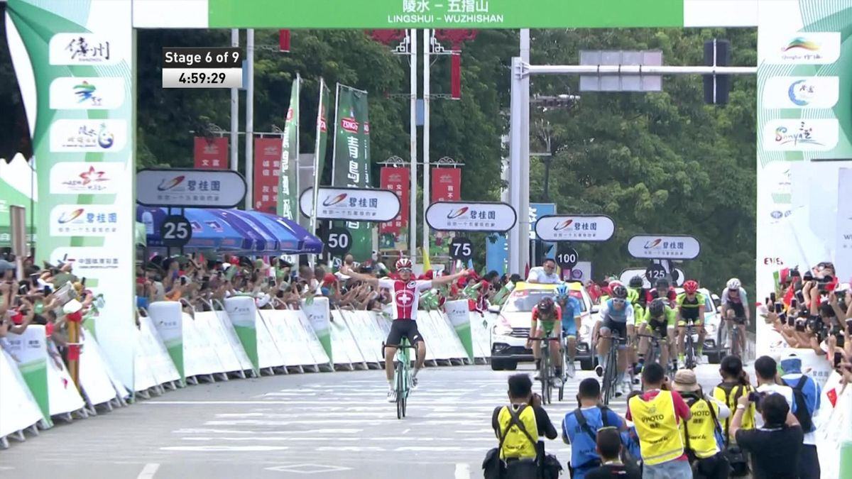 Tour of Hainan - Stage 6 - Finish