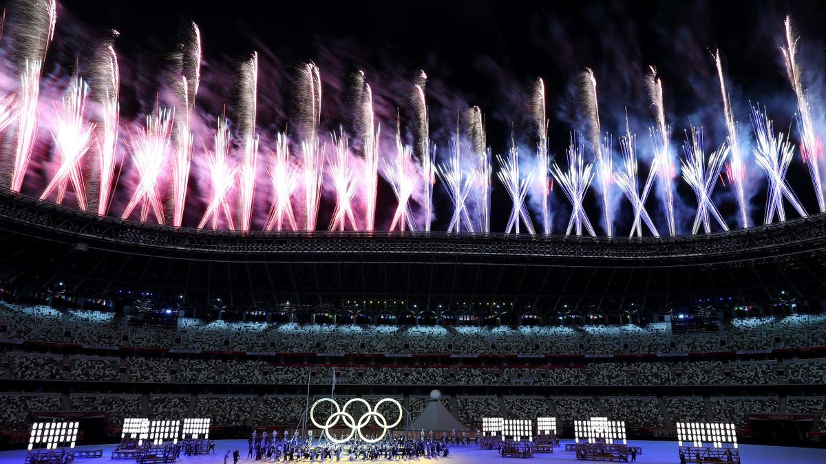 Olympics Tokyo 2020. Opening Ceremony