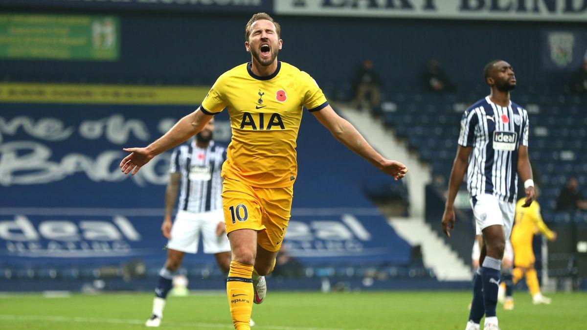 Harry Kane buteur avec Tottenham