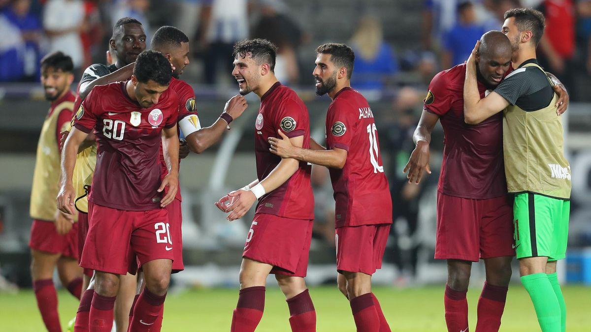 Katar zog beim Gold Cup ins Viertelfinale ein