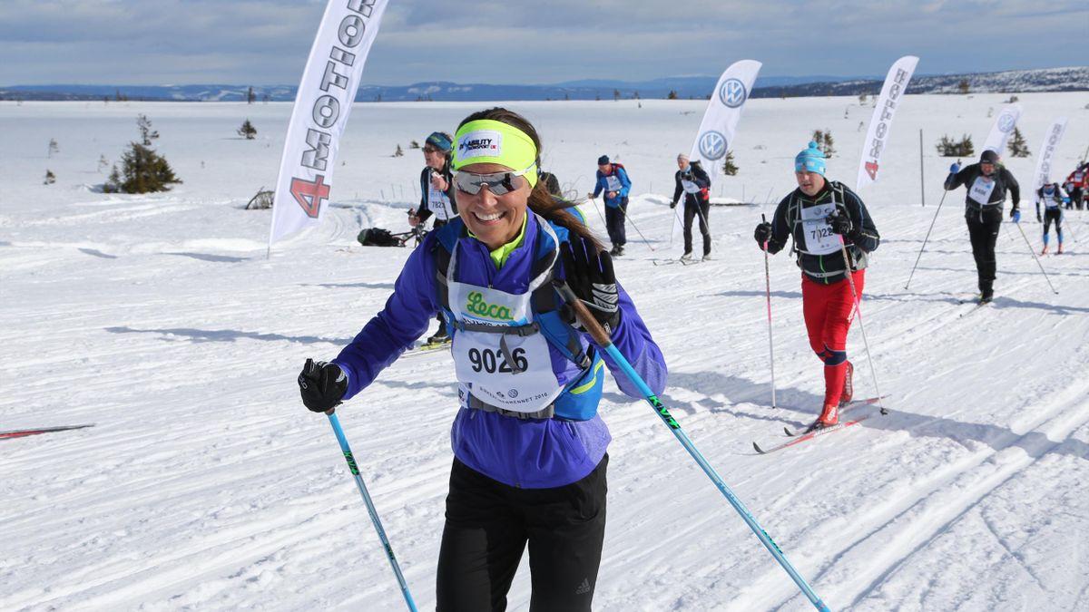 Пиппа Миддлтон на марафоне Биркебейнер