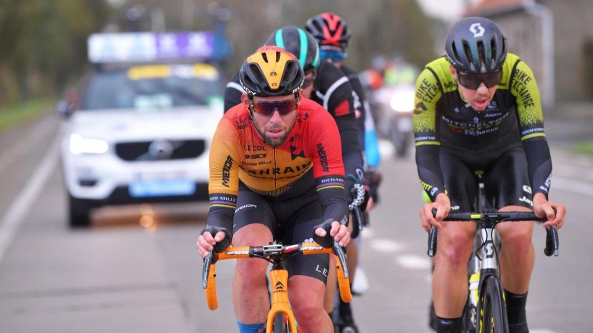 Mark Cavendish of The United Kingdom and Team Bahrain - Mclaren