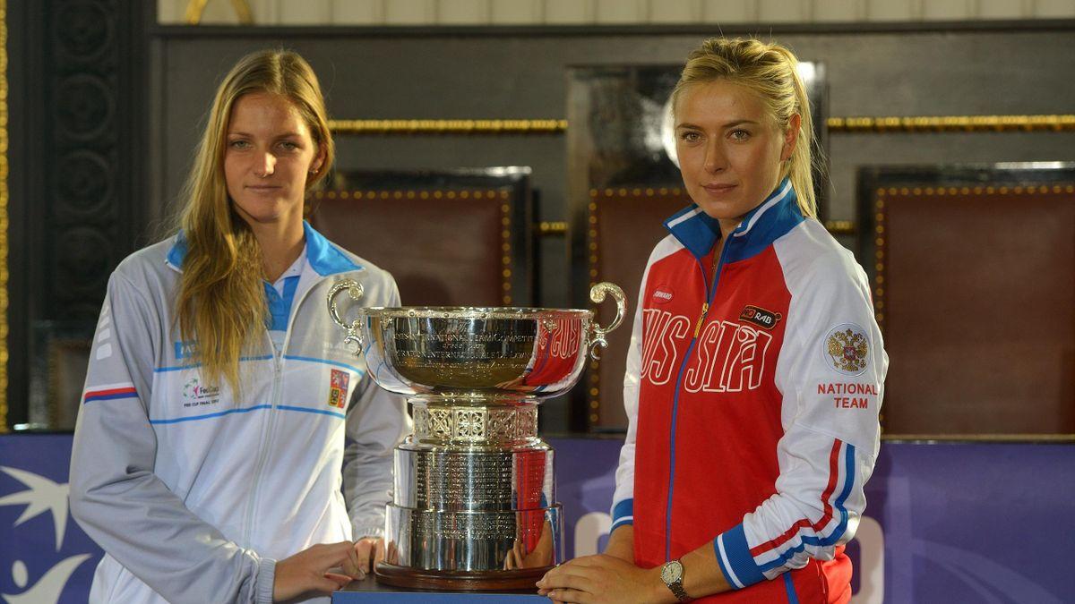 Каролина Плишкова и Мария Шарапова