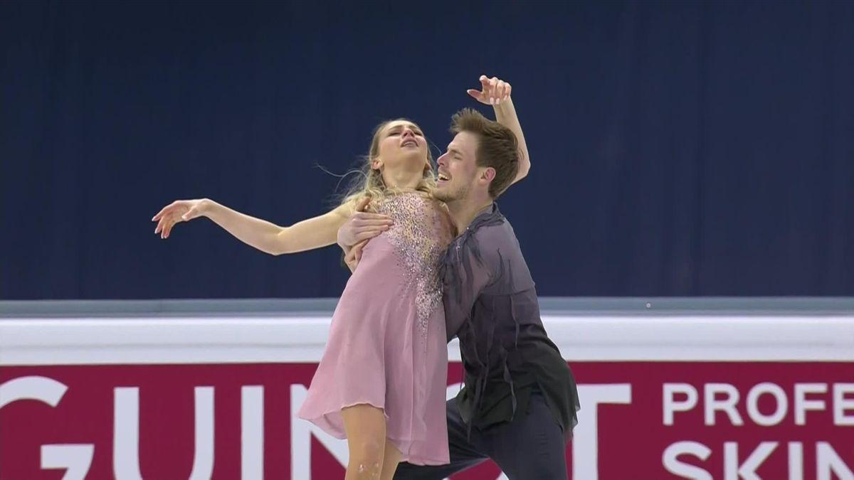 Figure skating Stockolm: Victoria Sinitsina/ Nikita Katsalapov
