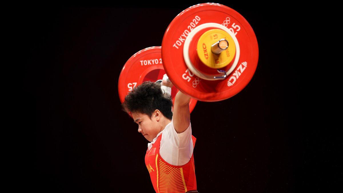 La Chinoise Zhihui Hou, médaillée d'or à Tokyo chez les -49kg, a battu le record olympique