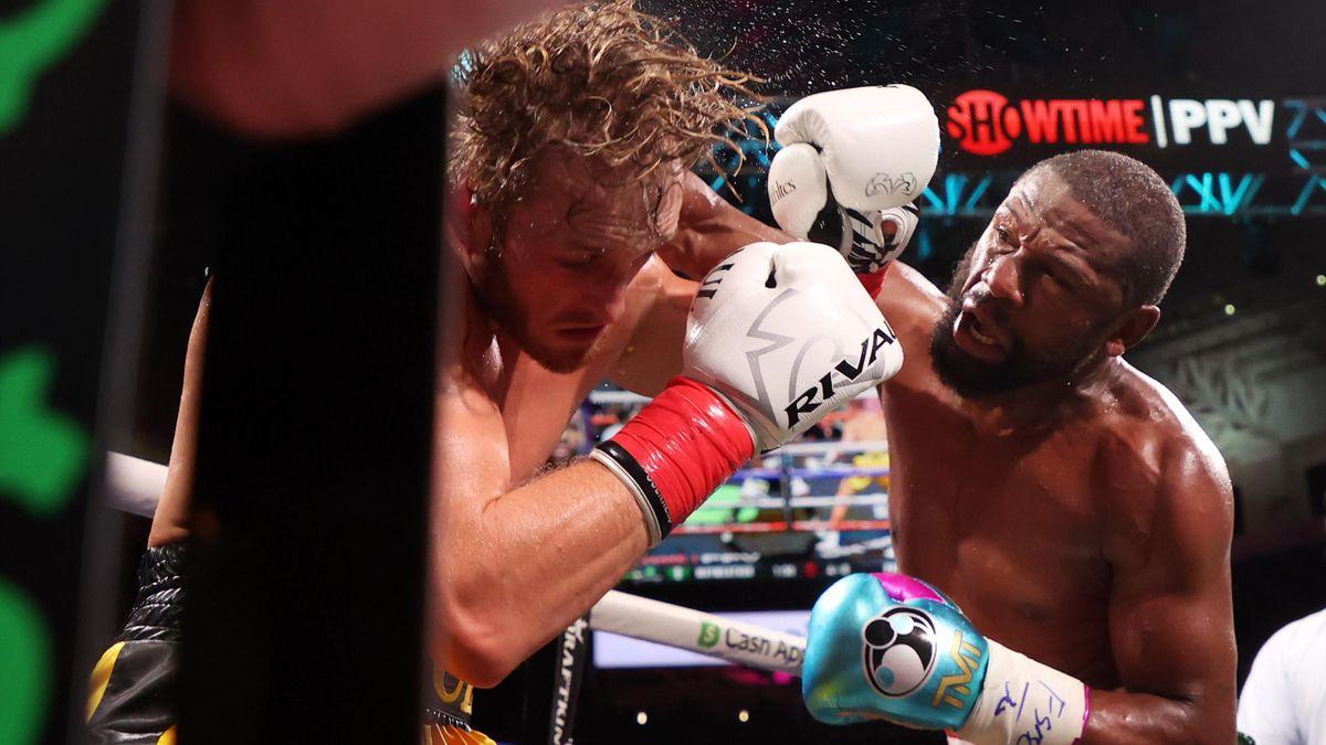 L'ex-star des rings Floyd Mayweather et le Youtubeur Jake Paul ont livré un piètre combat exibition dimanche 6 juin 2021
