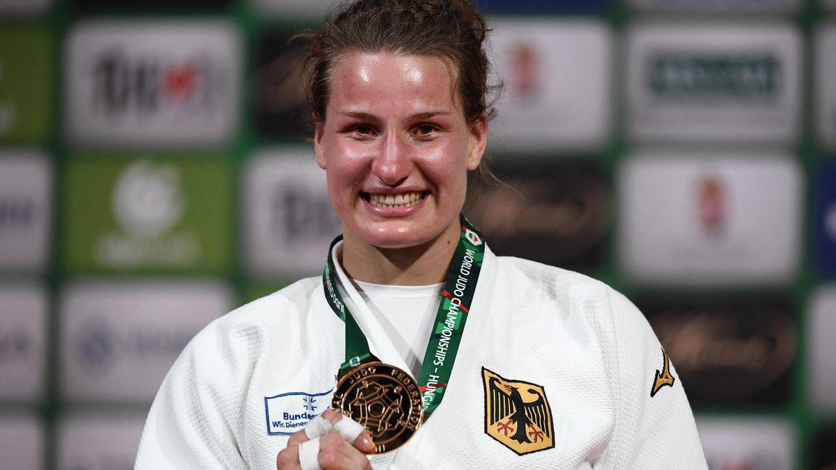 Anna-Maria Wagner gewann in Budapest WM-Gold