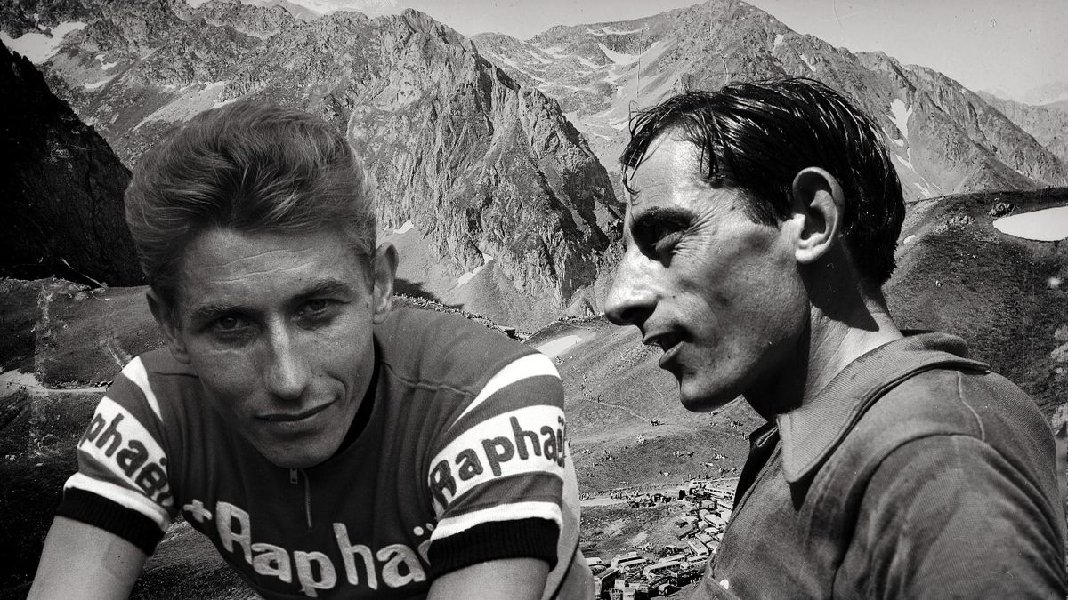 Jacques Anquetil, Fausto Coppi.