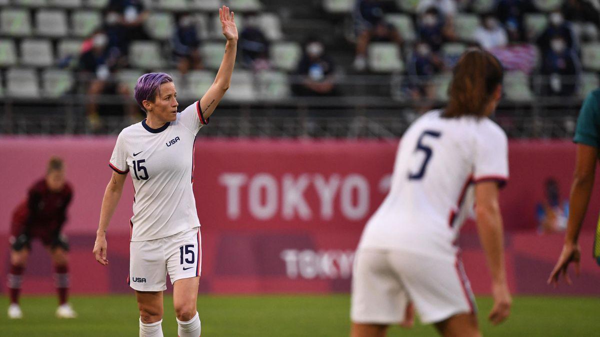 Megan Rapinoe és társai segítséget kaptak az amerikai férfi válogatottól