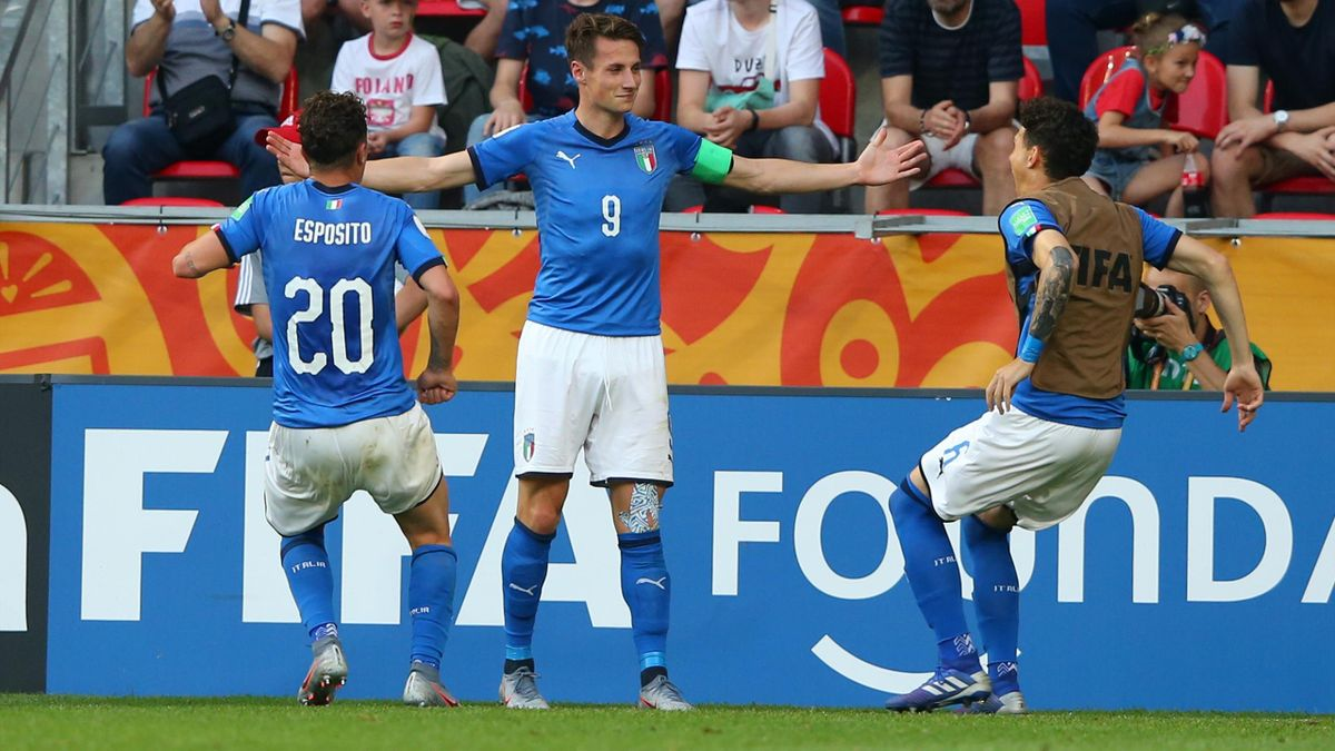 Pinamonti - Italy-Mali - 2019 FIFA U20 World Cup - Getty Images
