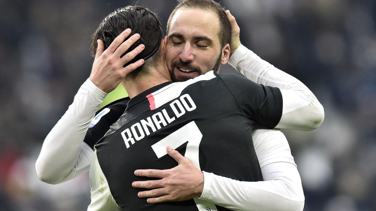 Cristiano Ronaldo & Gonzalo Higuain