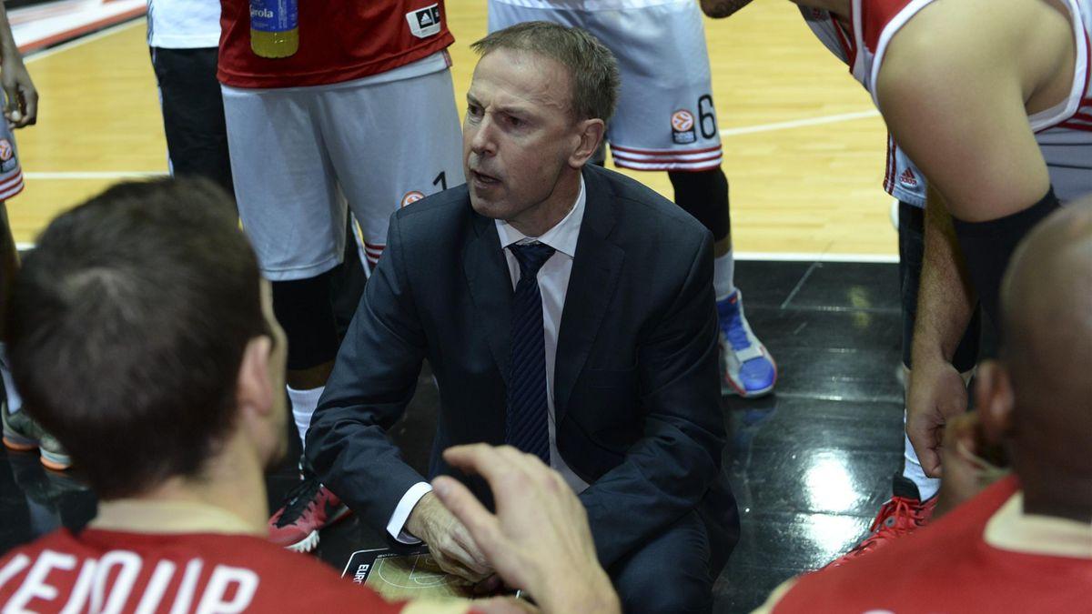 Vincent Collet avec Strasbourg en Euroligue en 2015