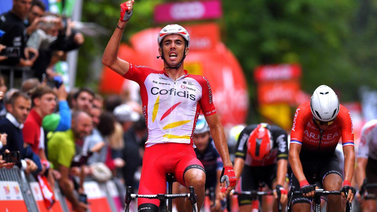 Christophe Laporte vainqueur du GP de Wallonie.