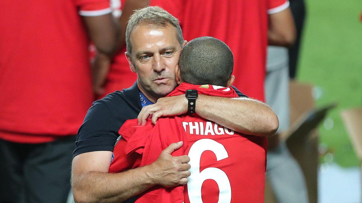 Hansi Flick gewann in seiner ersten Saison mit dem FC Bayern München das Triple