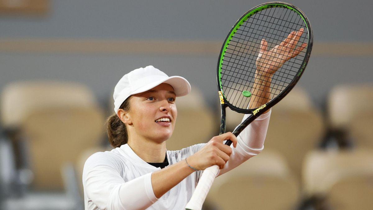 Iga Swiatek e de neoprit la Roland Garros 2020