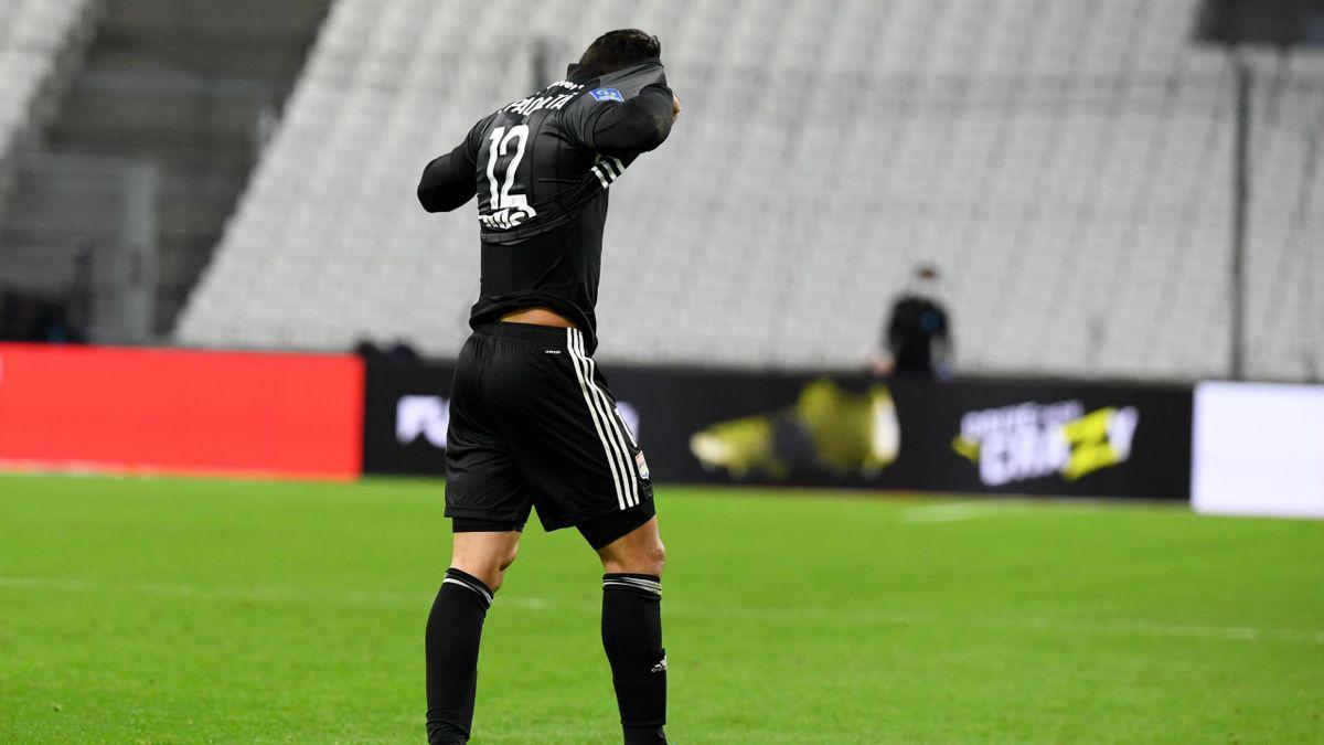 Lucas Paqueta avec Lyon, 2021