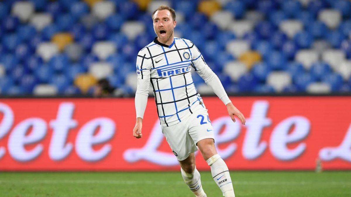 Christian Eriksen - Napoli-Inter Serie A 2020-21