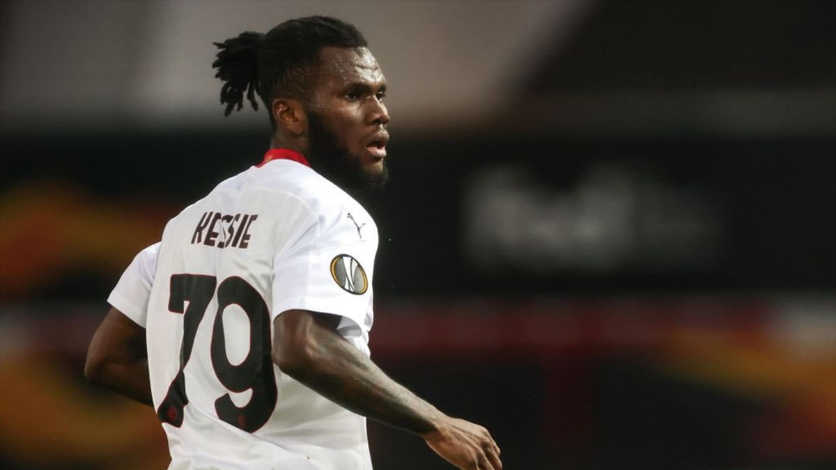 Franck Kessié - Manchester United-Milan Europa League 2020-21
