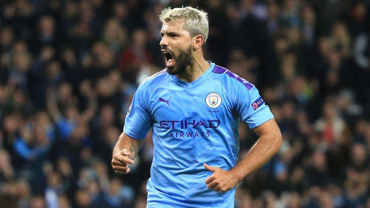 Aguero - Manchester City-Atalanta - Champions League 2019/2020 - Getty Images