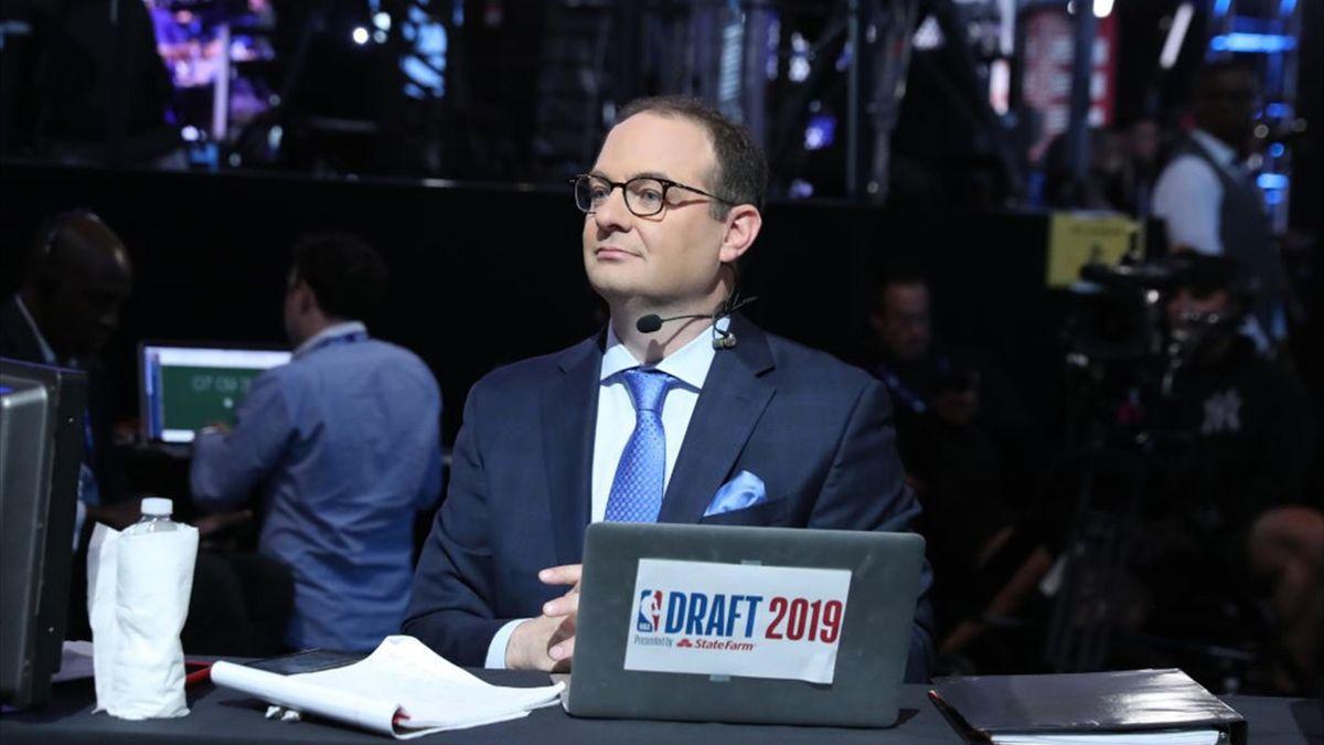 Adrian Wojnarowski (ESPN) lors de la draft 2019