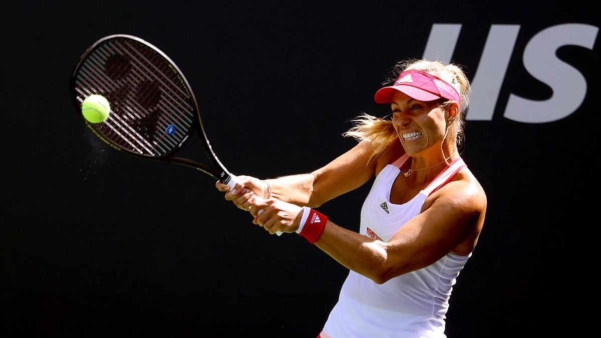 Angelique Kerber im Spiel gegen Ann Li - US Open 2020