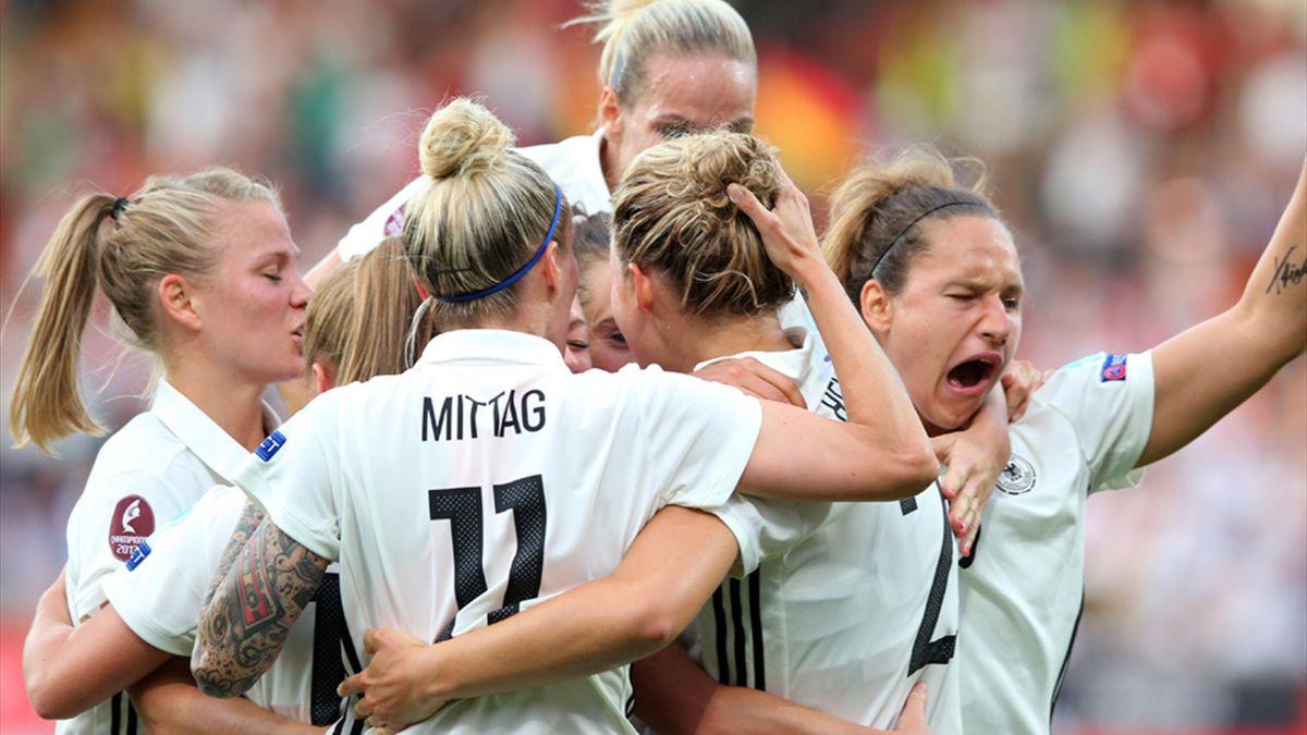 Frauen Em Deutschland Dänemark