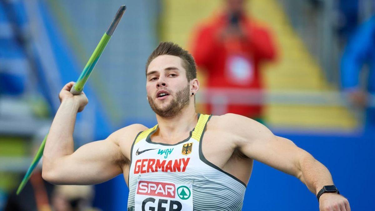 Johannes Vetter ist Favorit auf die Goldmedaille bei Olympia