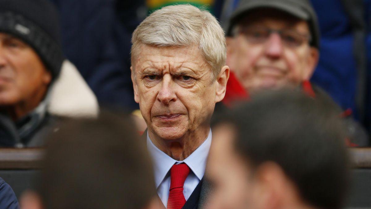 Arsenal manager Arsene Wenger before the game