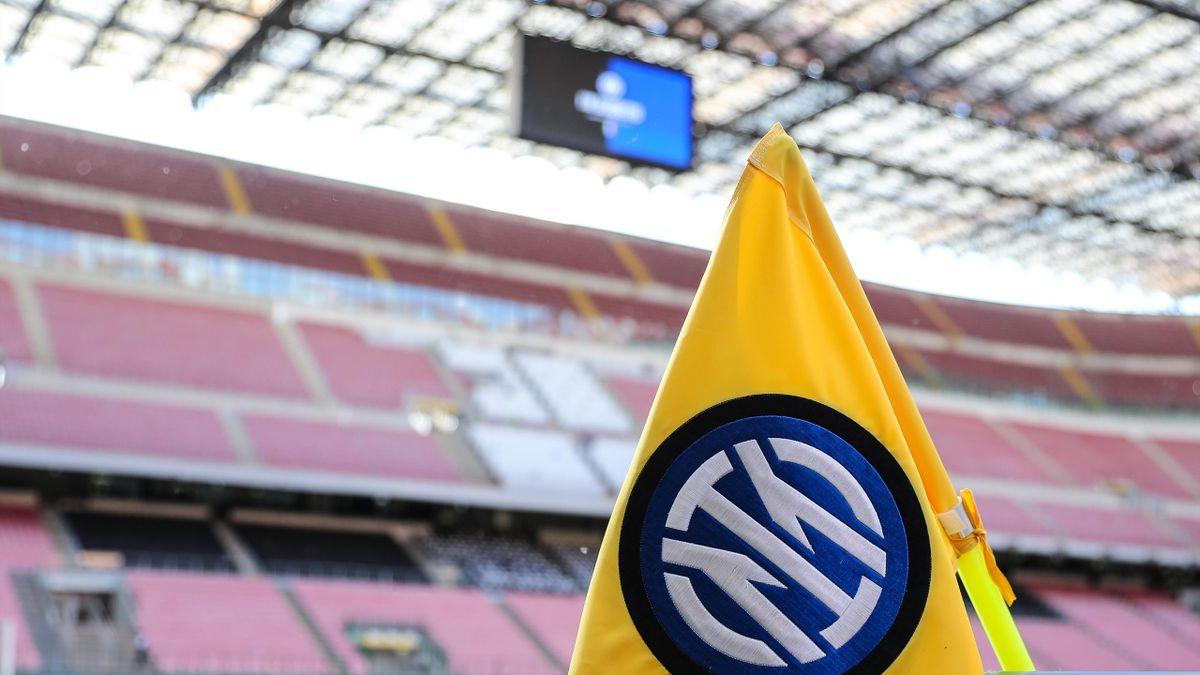 Das Giuseppe-Meazza-Stadion während dem Spiel zwischen Inter Mailand und AS Rom