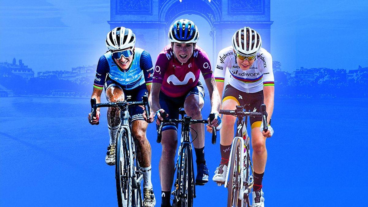 Die Tour de France der Frauen - exklusiv bei Eurosport