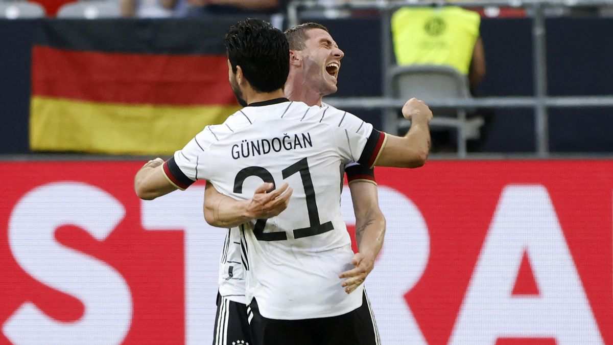 Ilkay Gundogan and Robin Gosens, Germany