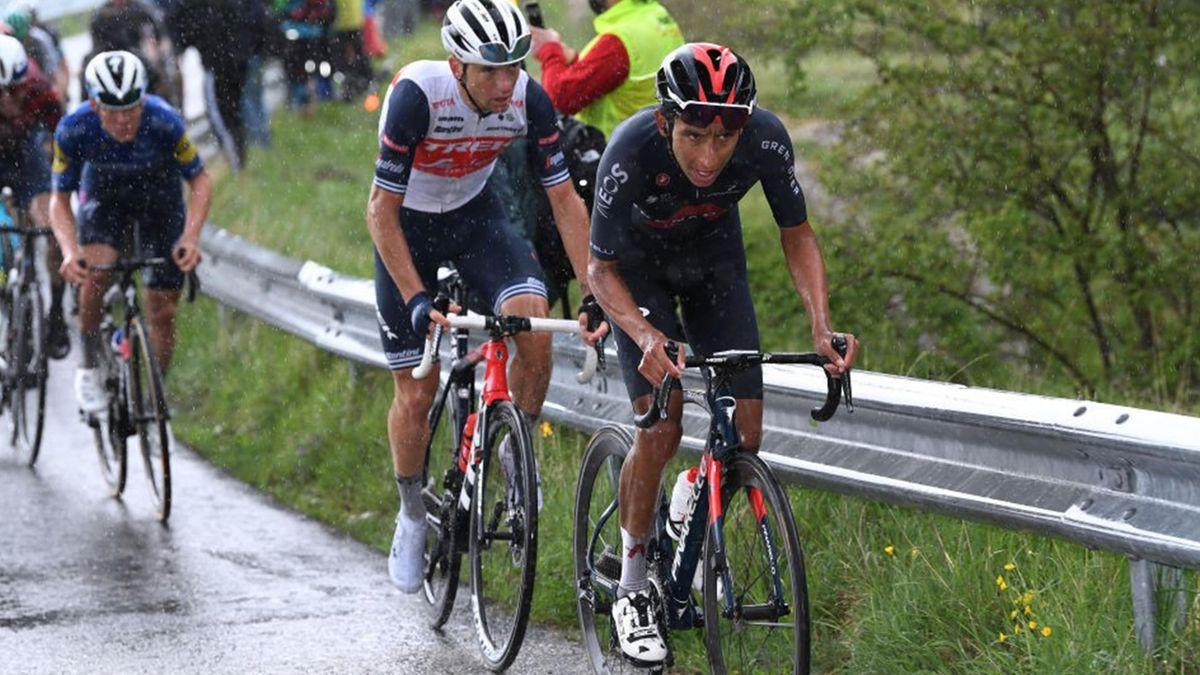 Ciccone e Bernal all'attacco nella tappa di San Giacomo - Giro d'Italia 2021