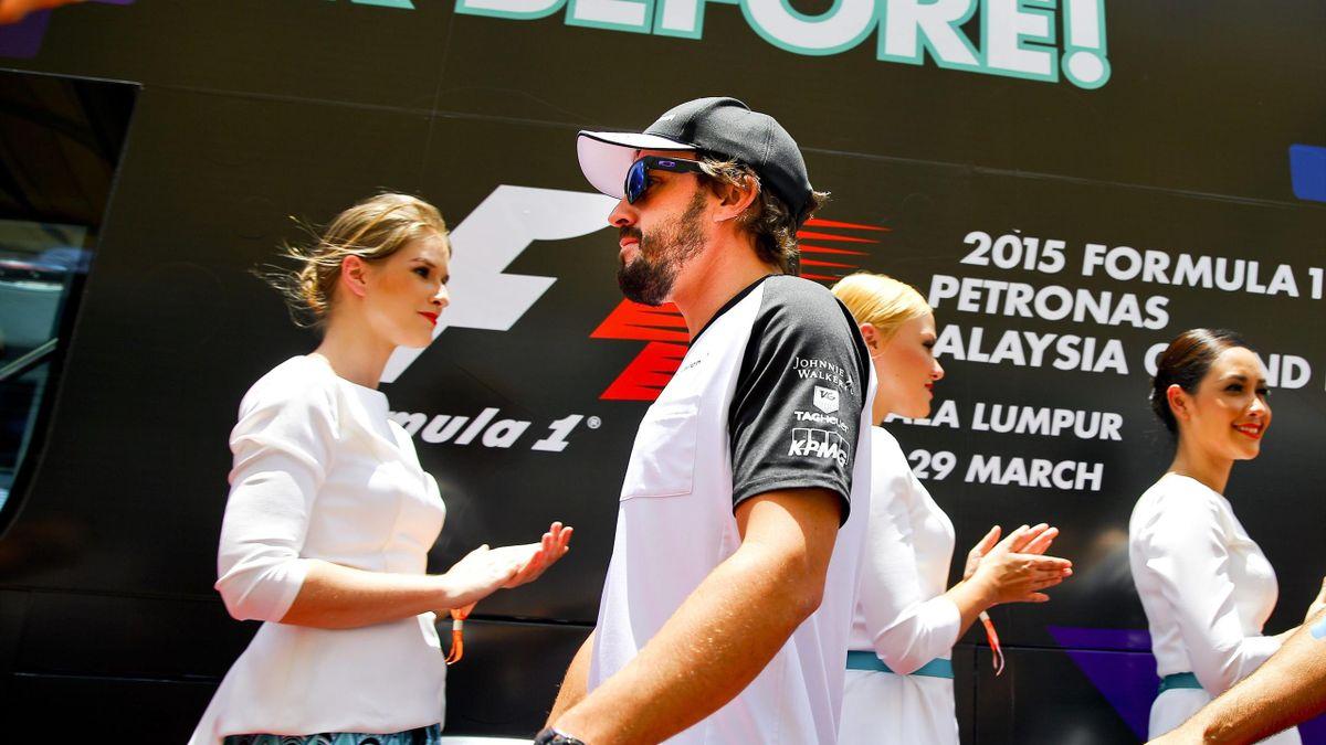 Alonso tras la carrera