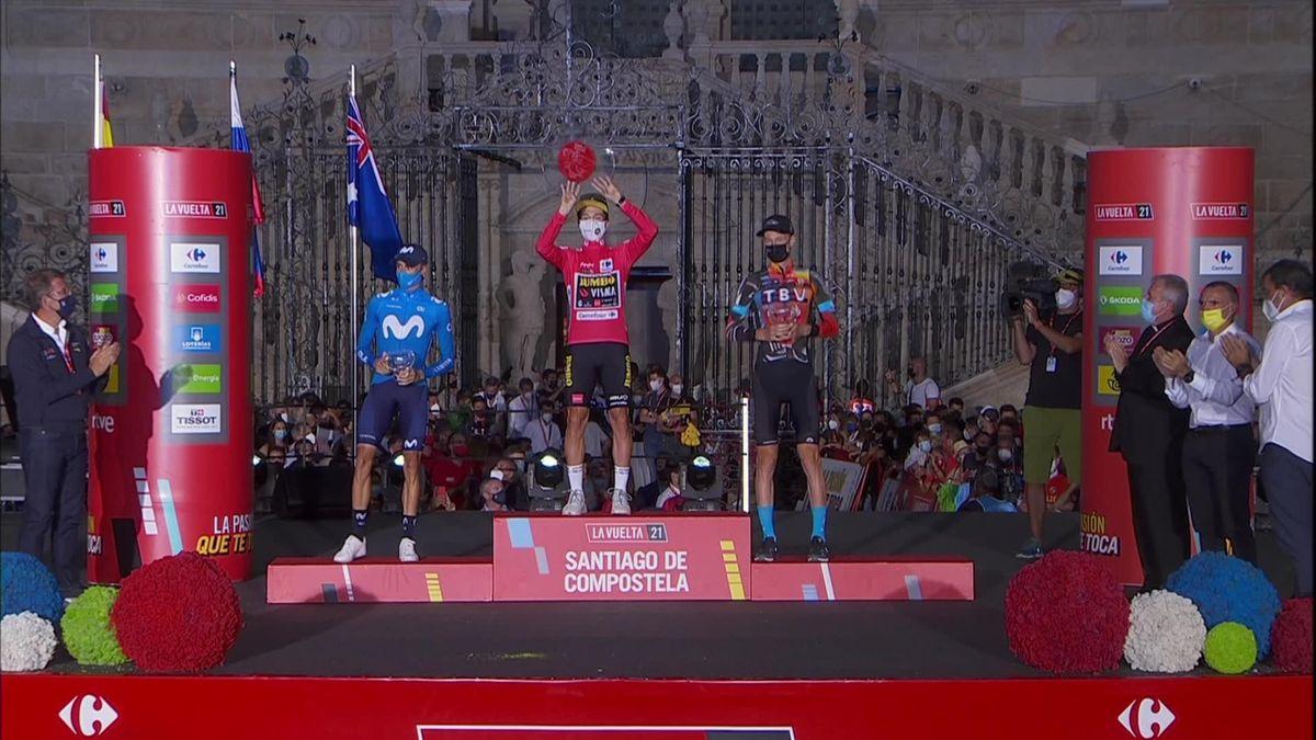 Se høydepunktene fra siste etappe i Vueltaen