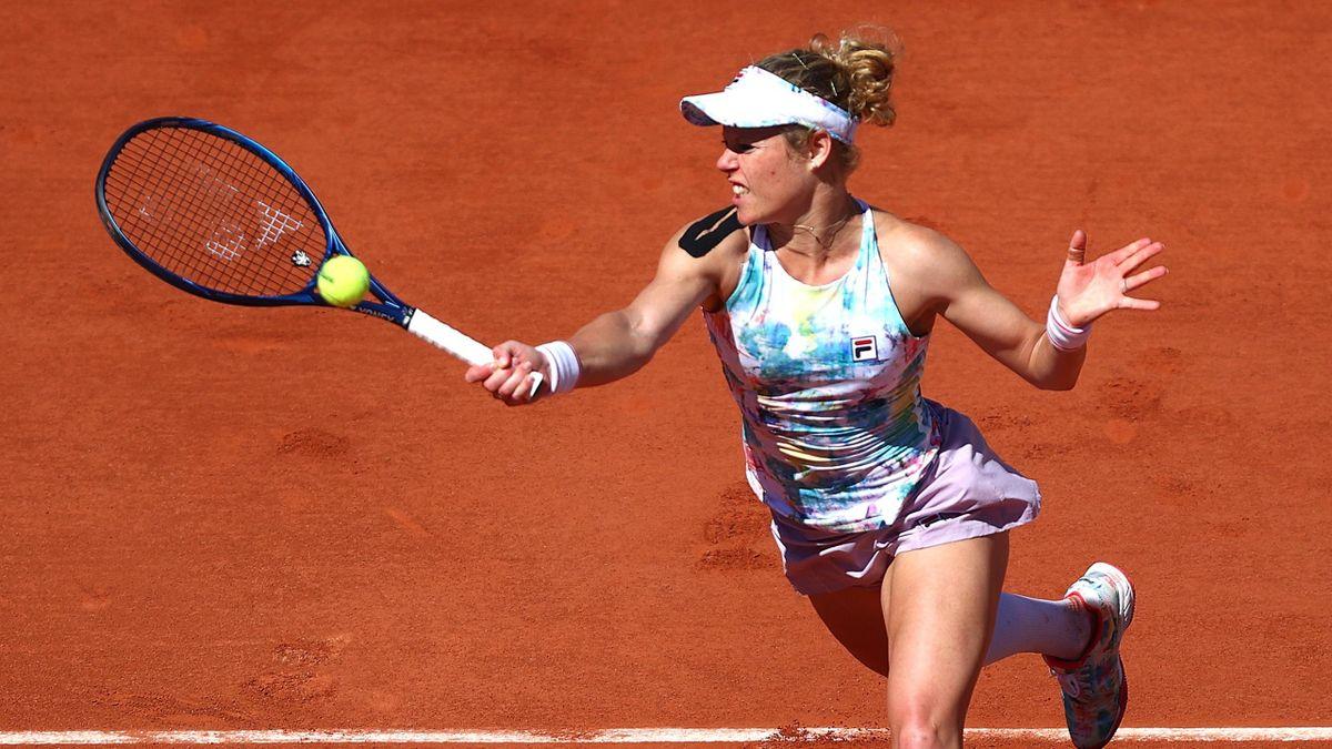 Laura Siegemund bei den French Open in Paris