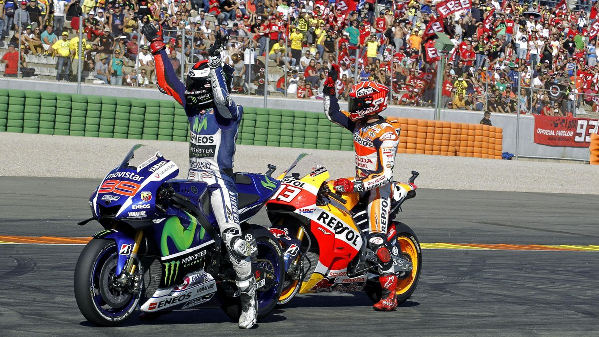Jorge Lorenzo y Marc Márquez, GP de Valencia (Cheste)