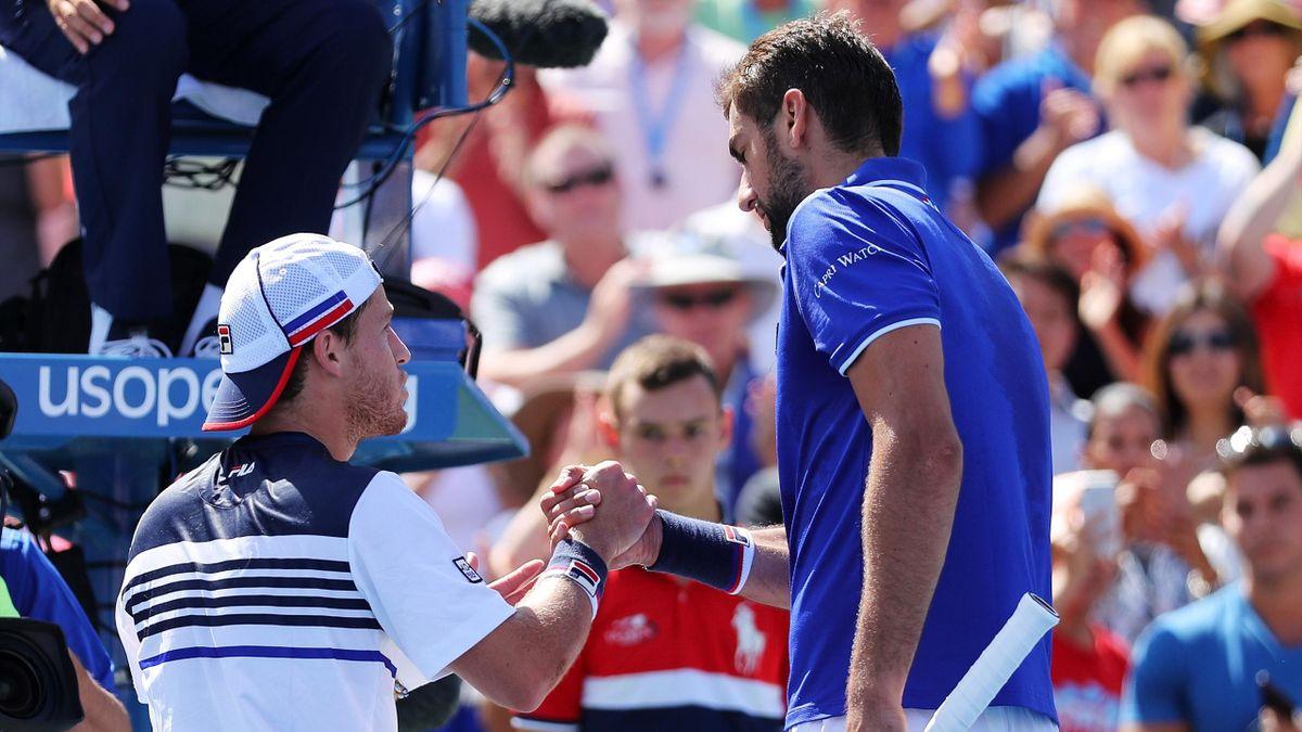 Diego Schwartzman - Marin Cilic - US Open 2017