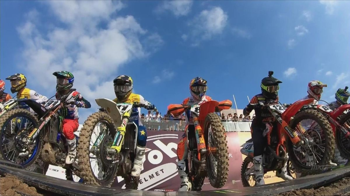 MXGP:  Jeffrey Herlings wins race 2 in China (Highlights)