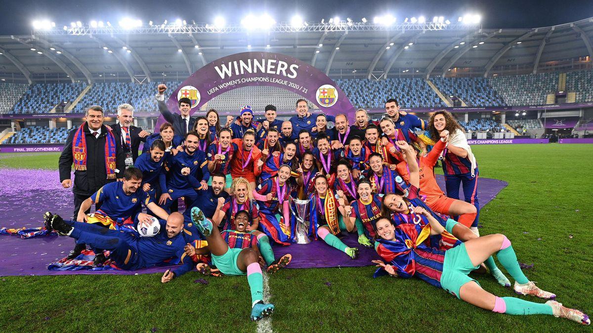 Barcelona dismantle Chelsea in Champions League final