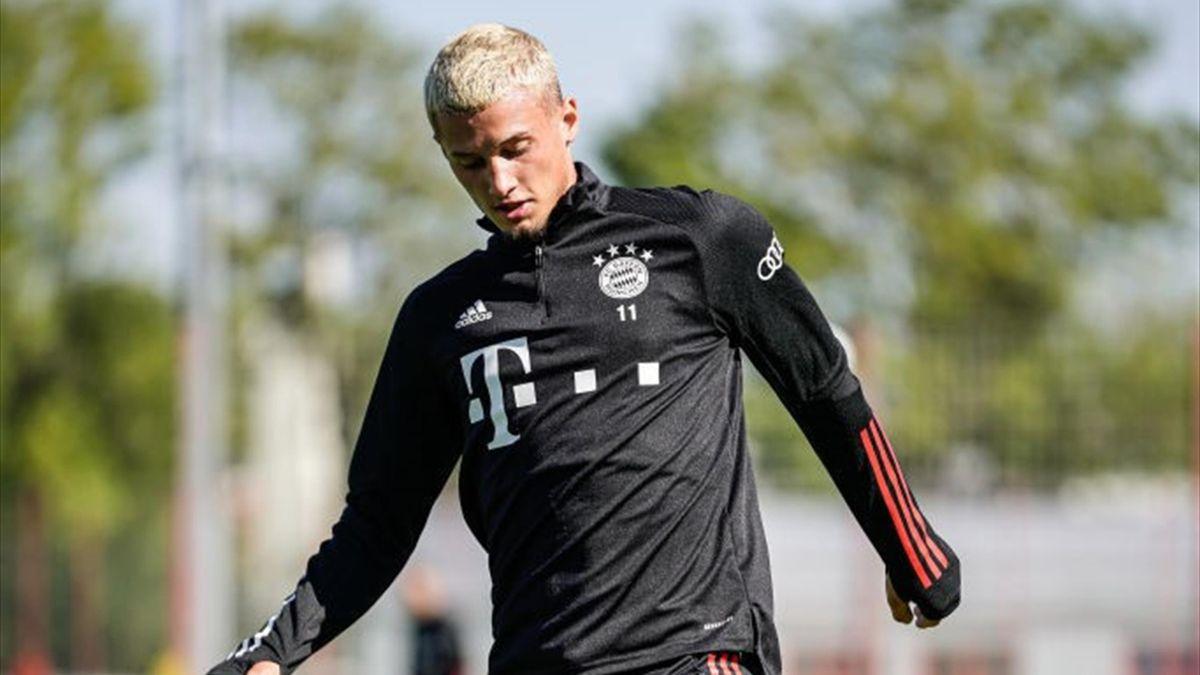 Mickael Cuisance (Bayern Munich) le 15 septembre 2020