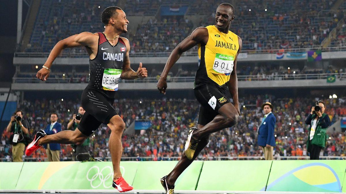 POTY: De Grasse und Bolt bei Olympia in Rio