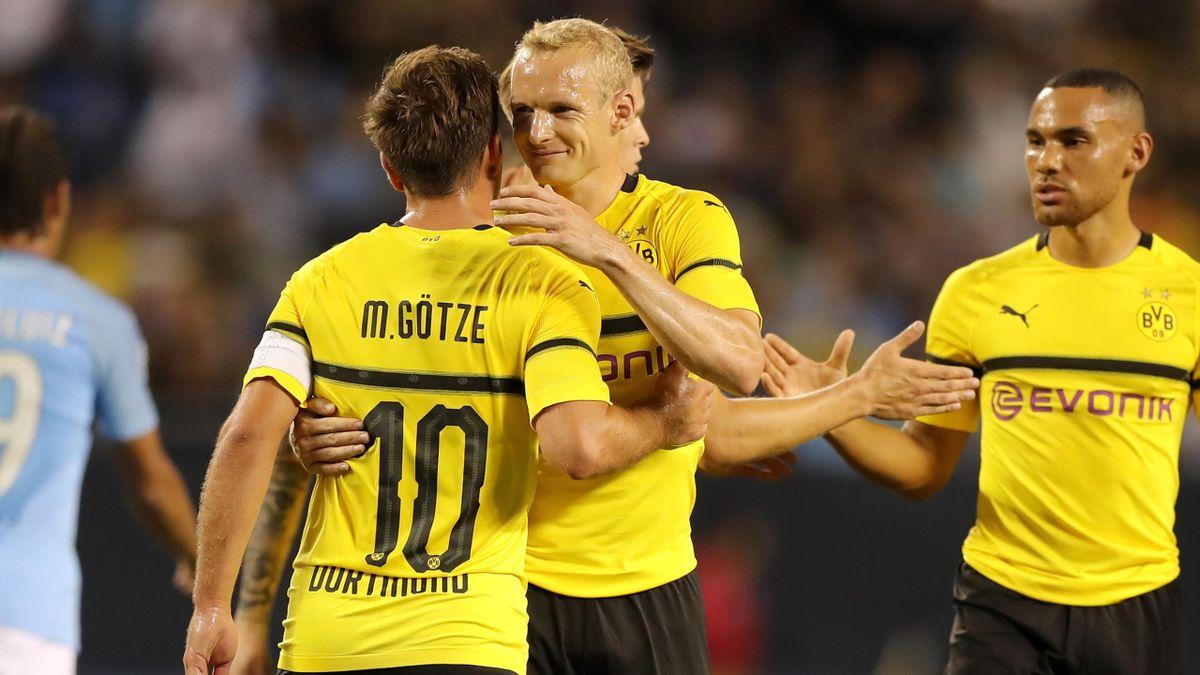 Mario Götze; Sebatian Rode (Borussia Dortmund)