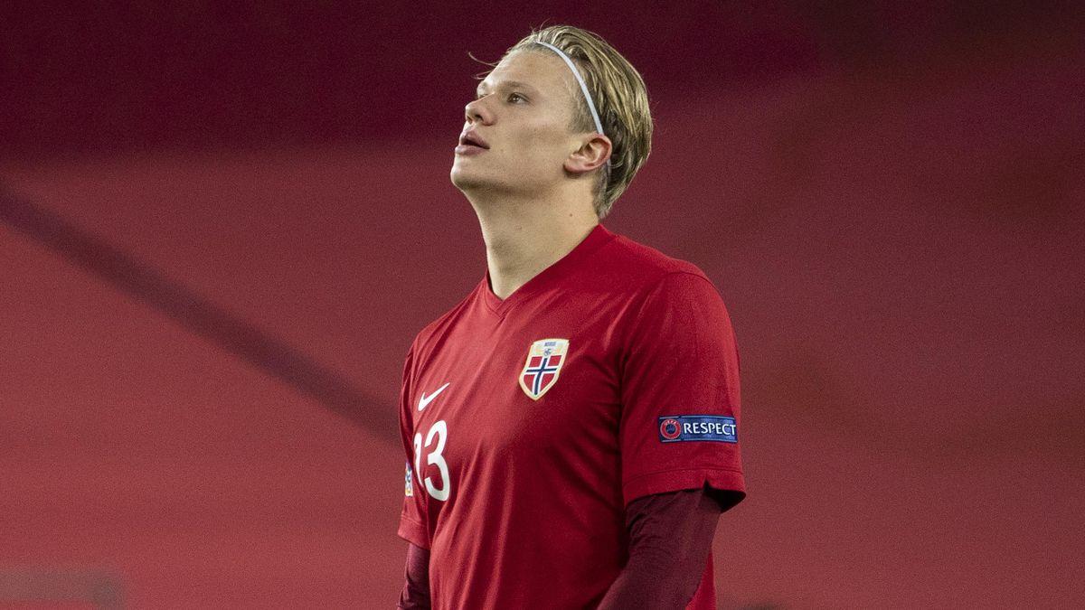 Эрлинг Холанн, сборная Норвегии